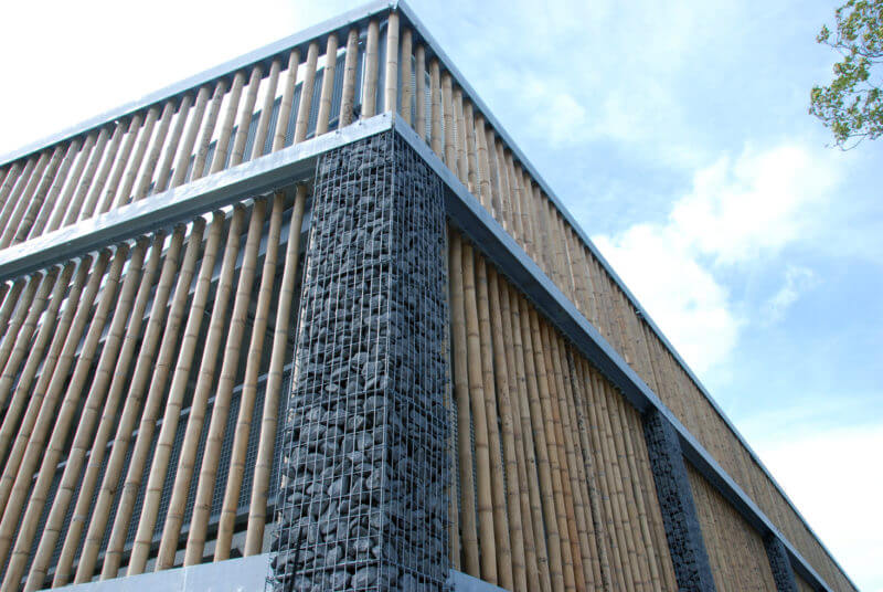 Bamboe parkeergarage