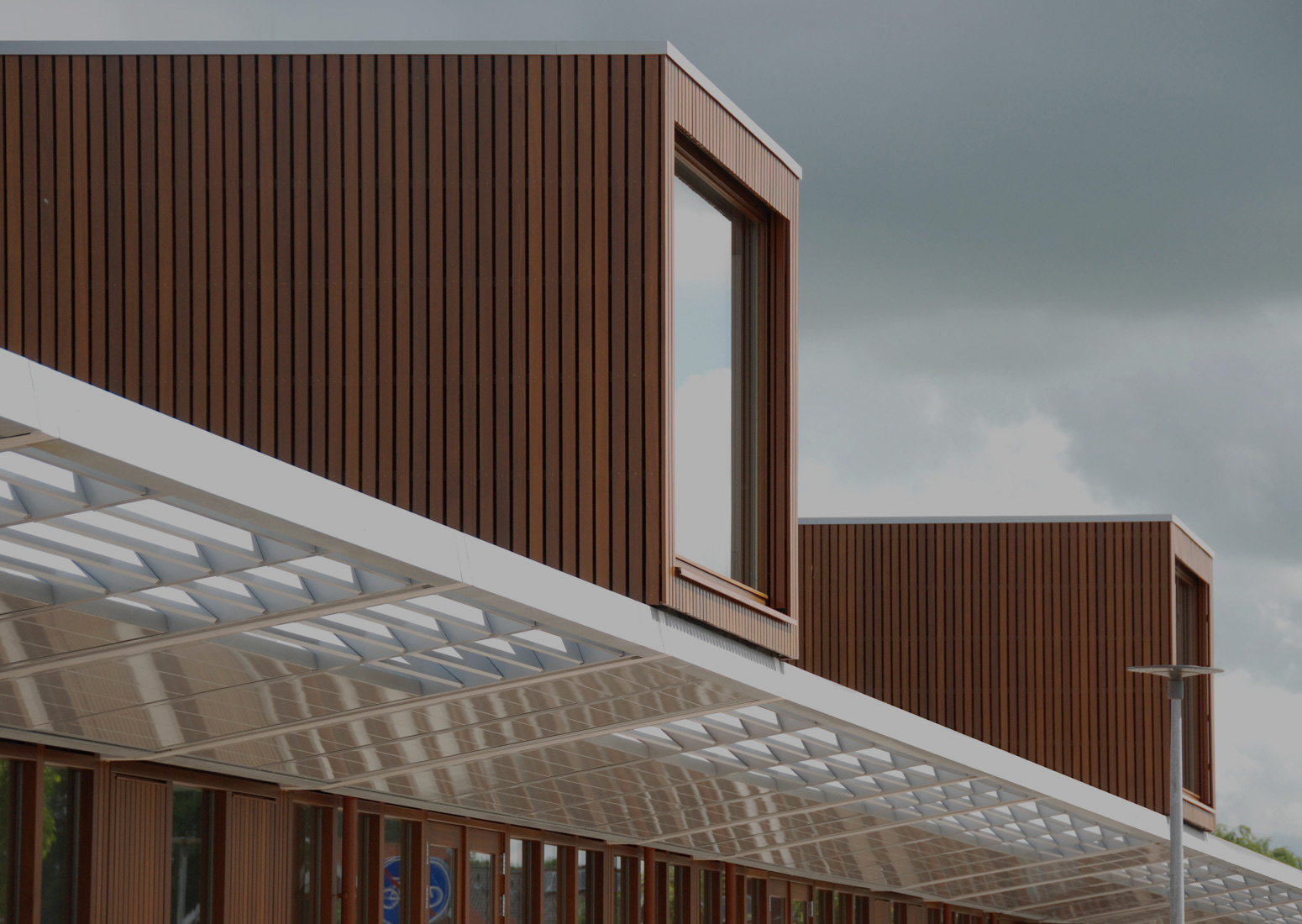 Architectuur brede school Rietweerde