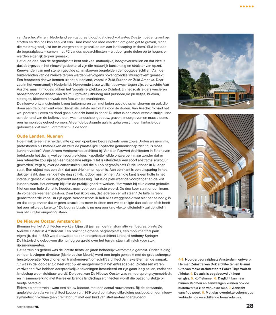 Crematorium in ArchitectuurNL